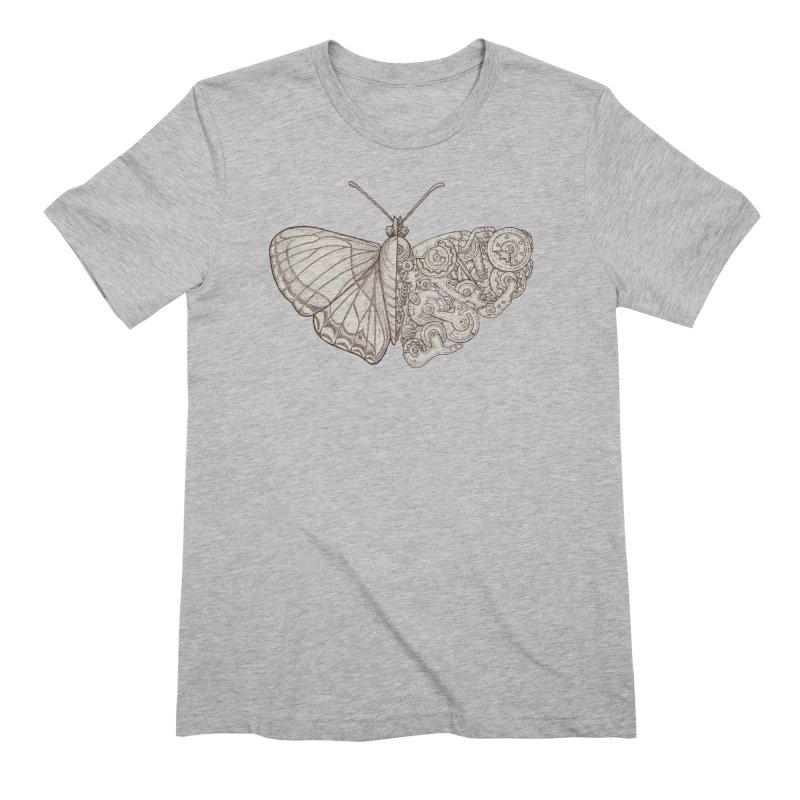 butterfly sci-fi Men's Extra Soft T-Shirt by makapa's Artist Shop