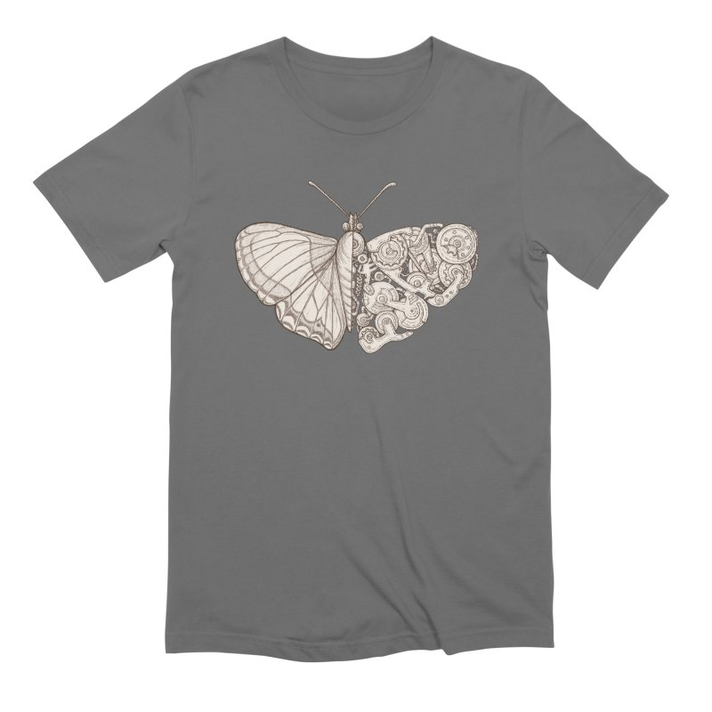 butterfly sci-fi Men's T-Shirt by makapa's Artist Shop