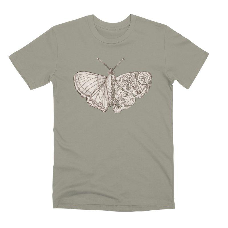 butterfly sci-fi Men's Premium T-Shirt by makapa's Artist Shop