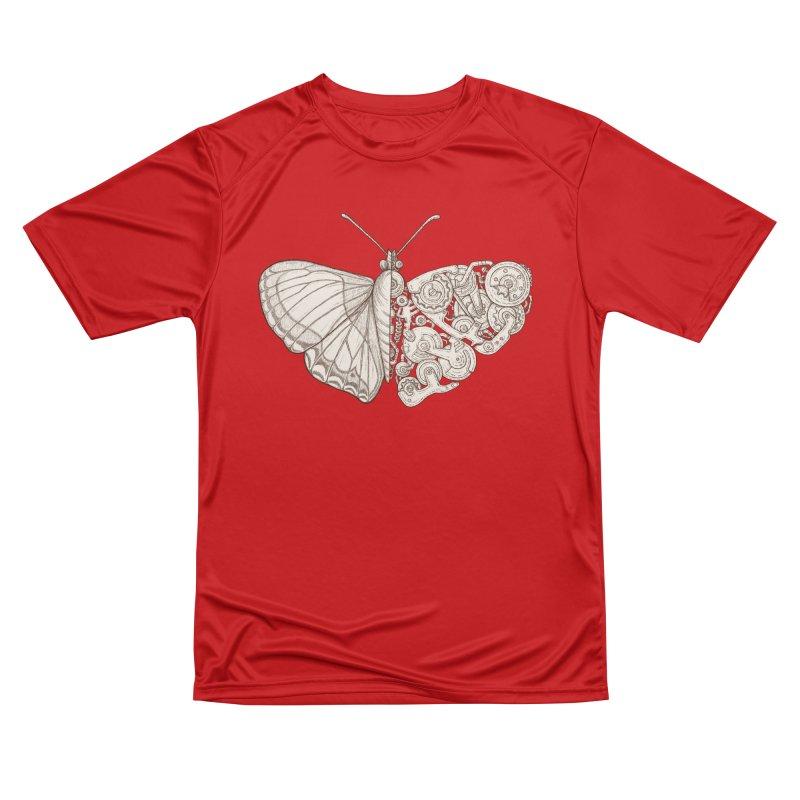 butterfly sci-fi Men's Performance T-Shirt by makapa's Artist Shop