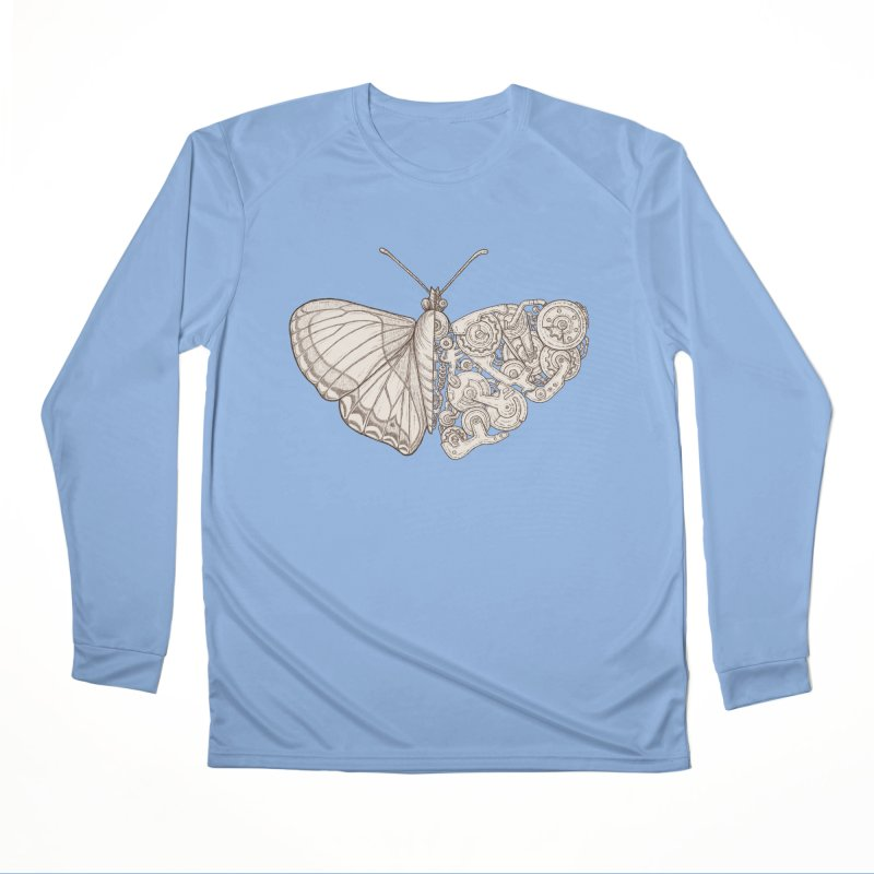 butterfly sci-fi Women's Longsleeve T-Shirt by makapa's Artist Shop