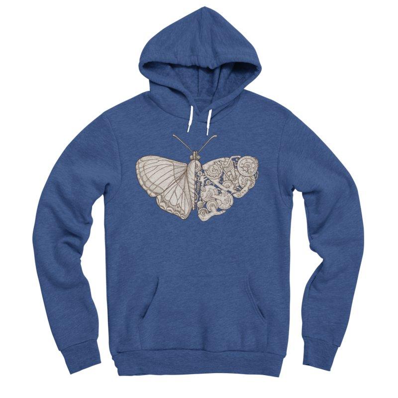 butterfly sci-fi Women's Sponge Fleece Pullover Hoody by makapa's Artist Shop