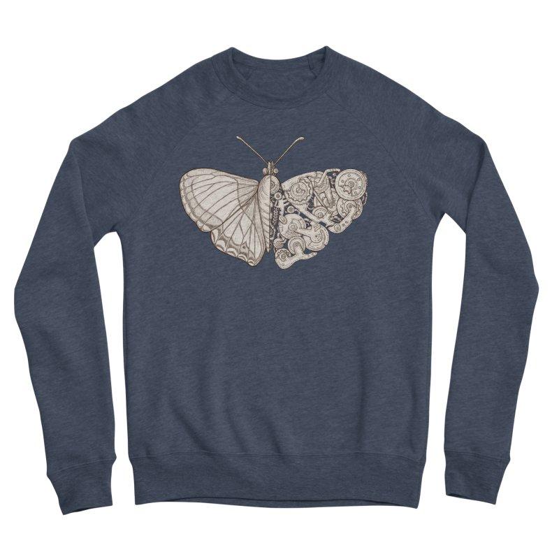 butterfly sci-fi Women's Sponge Fleece Sweatshirt by makapa's Artist Shop