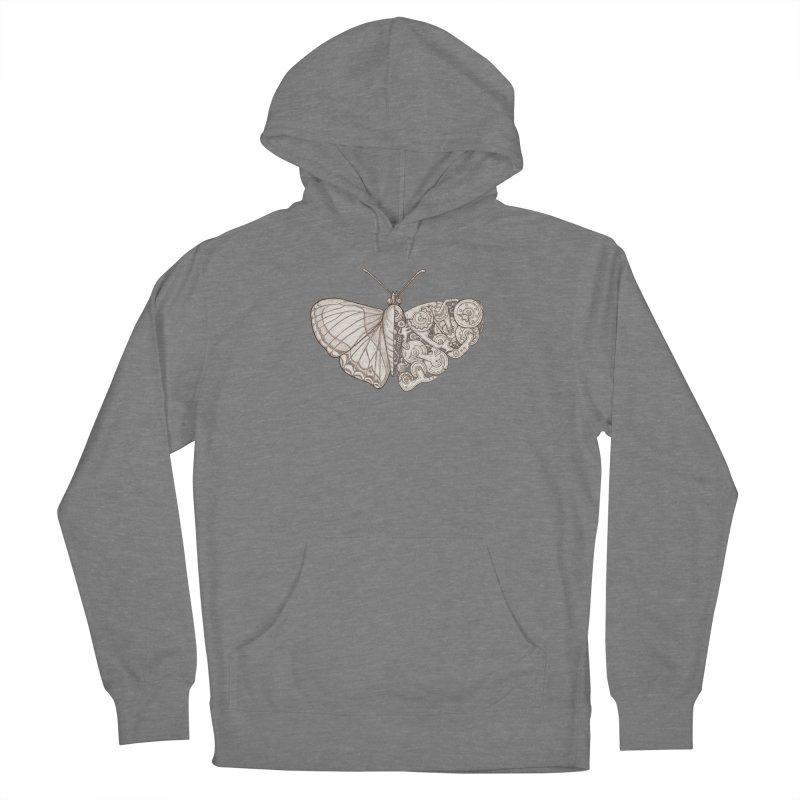 butterfly sci-fi Women's Pullover Hoody by makapa's Artist Shop
