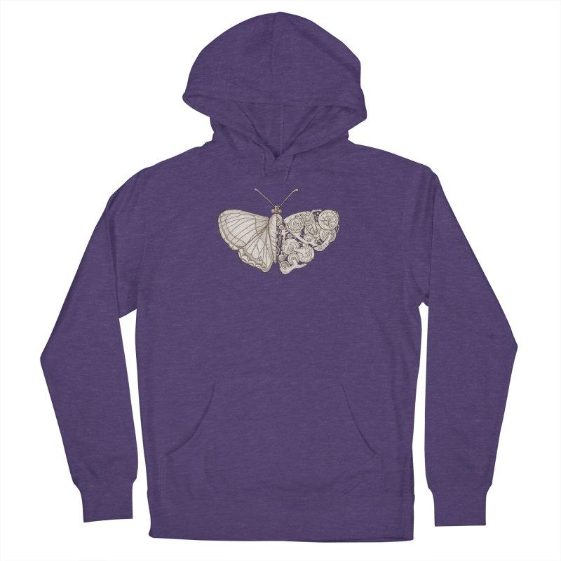 butterfly sci-fi Men's Pullover Hoody by makapa's Artist Shop