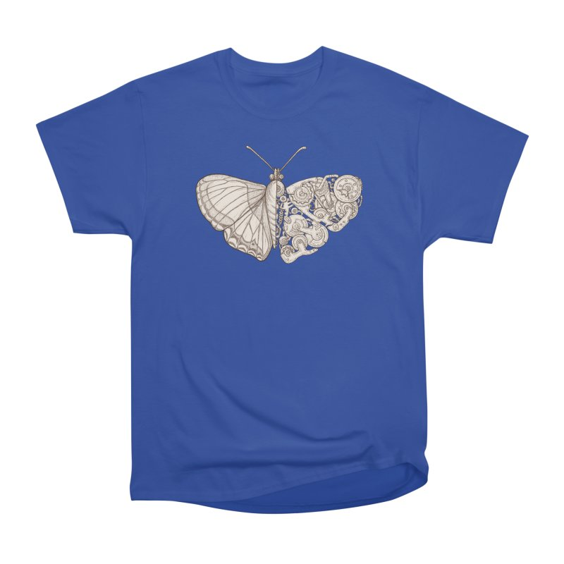 butterfly sci-fi Men's Heavyweight T-Shirt by makapa's Artist Shop