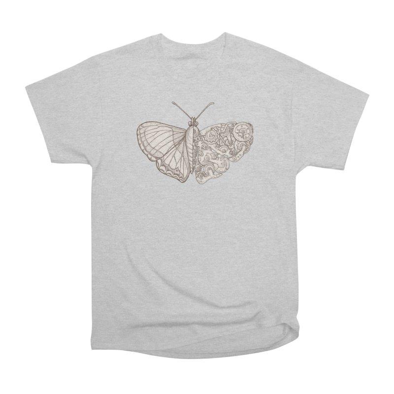 butterfly sci-fi Men's Heavyweight T-Shirt by makapa's Artist Shop
