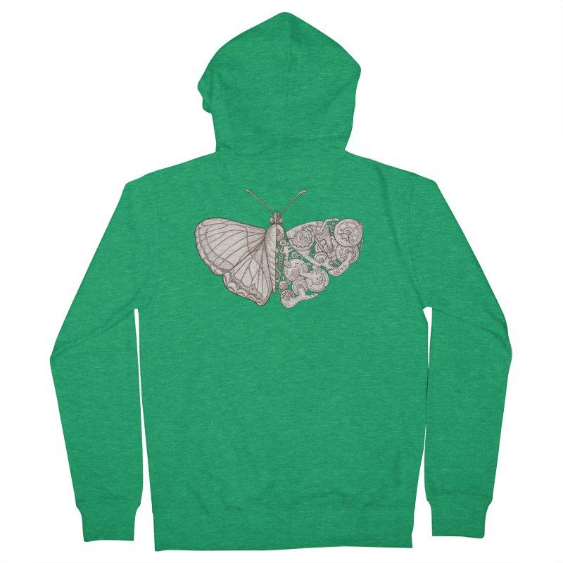 butterfly sci-fi Women's Zip-Up Hoody by makapa's Artist Shop