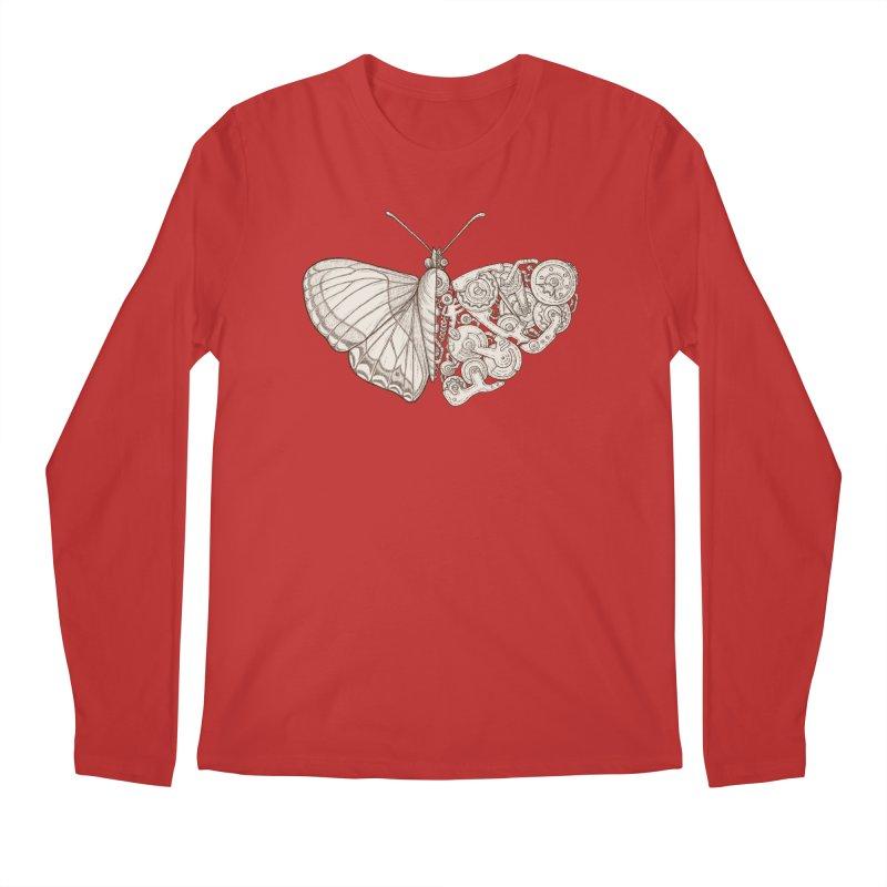 butterfly sci-fi Men's Regular Longsleeve T-Shirt by makapa's Artist Shop