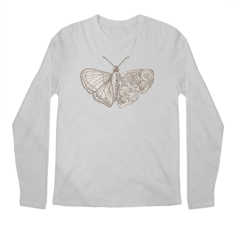 butterfly sci-fi Men's Regular Longsleeve T-Shirt by makapa's Artist Shop