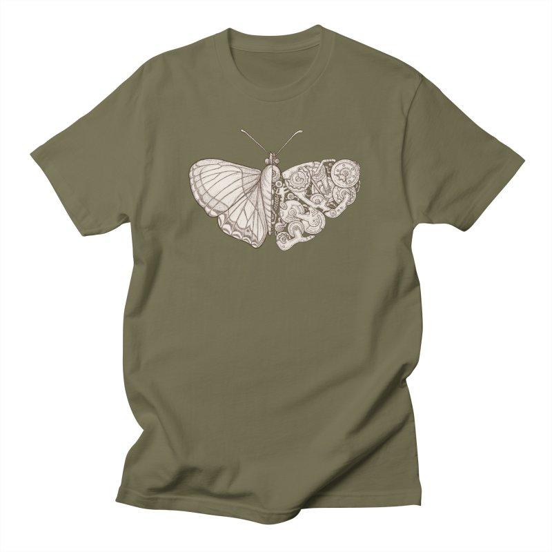 butterfly sci-fi Men's T-Shirt by makapa's Artist Shop