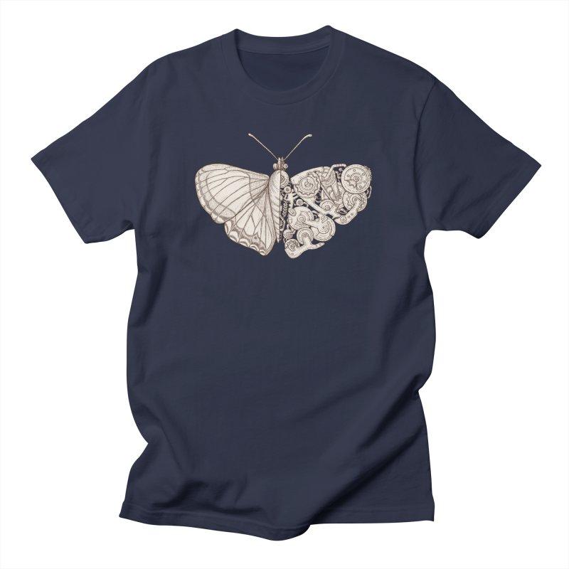butterfly sci-fi Men's Regular T-Shirt by makapa's Artist Shop