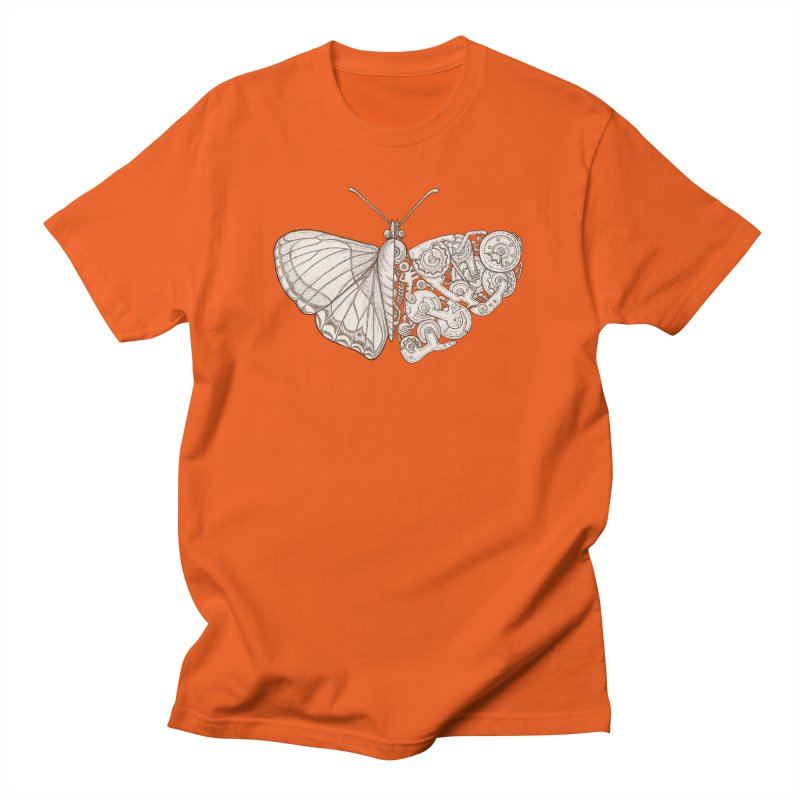 butterfly sci-fi Men's Regular T-Shirt by makapa's Artist Shop