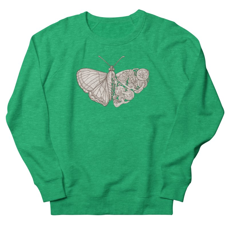 butterfly sci-fi Women's Sweatshirt by makapa's Artist Shop