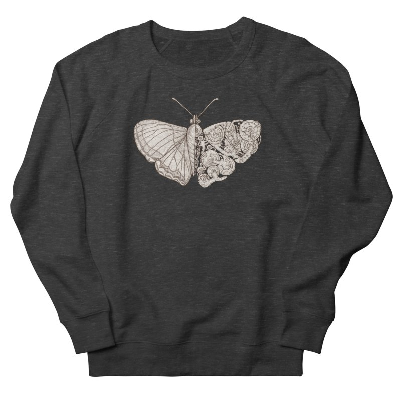 butterfly sci-fi Men's Sweatshirt by makapa's Artist Shop