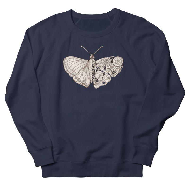 butterfly sci-fi Men's Sweatshirt by makapa's Artist Shop