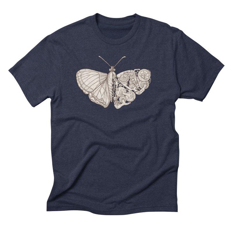butterfly sci-fi Men's Triblend T-Shirt by makapa's Artist Shop
