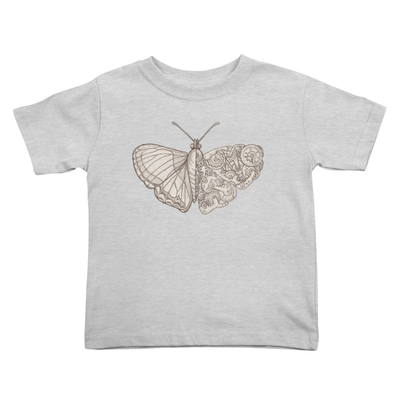 butterfly sci-fi Kids Toddler T-Shirt by makapa's Artist Shop