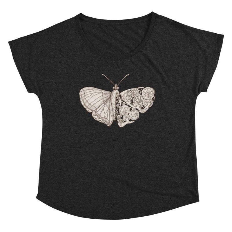 butterfly sci-fi Women's Dolman Scoop Neck by makapa's Artist Shop