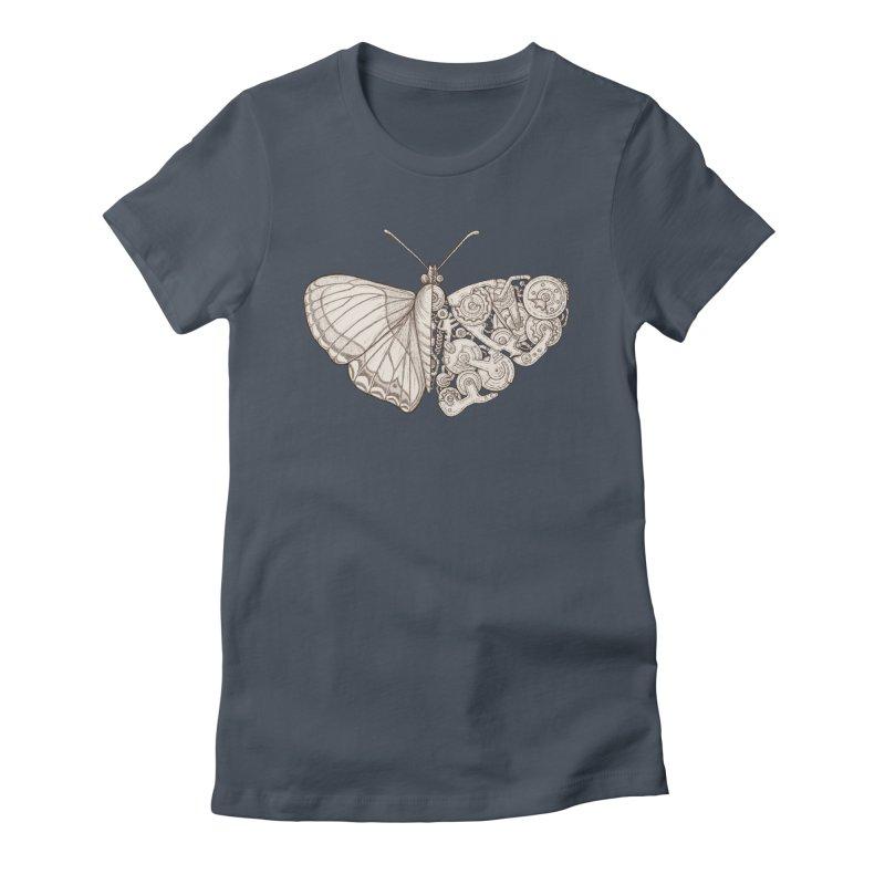 butterfly sci-fi Women's T-Shirt by makapa's Artist Shop