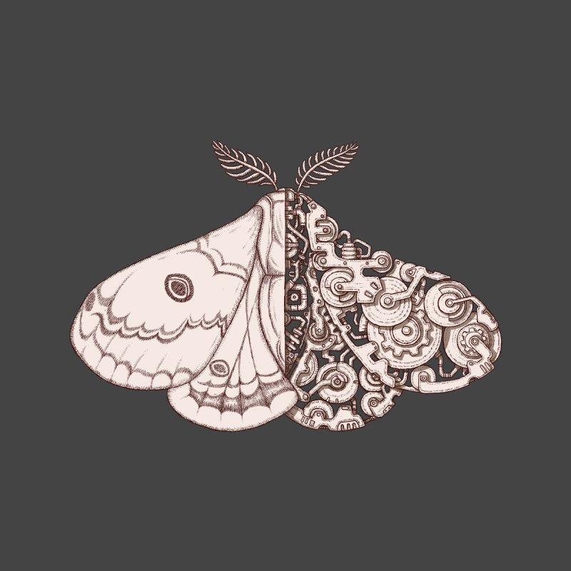 moth sci-fi Men's T-Shirt by makapa's Artist Shop
