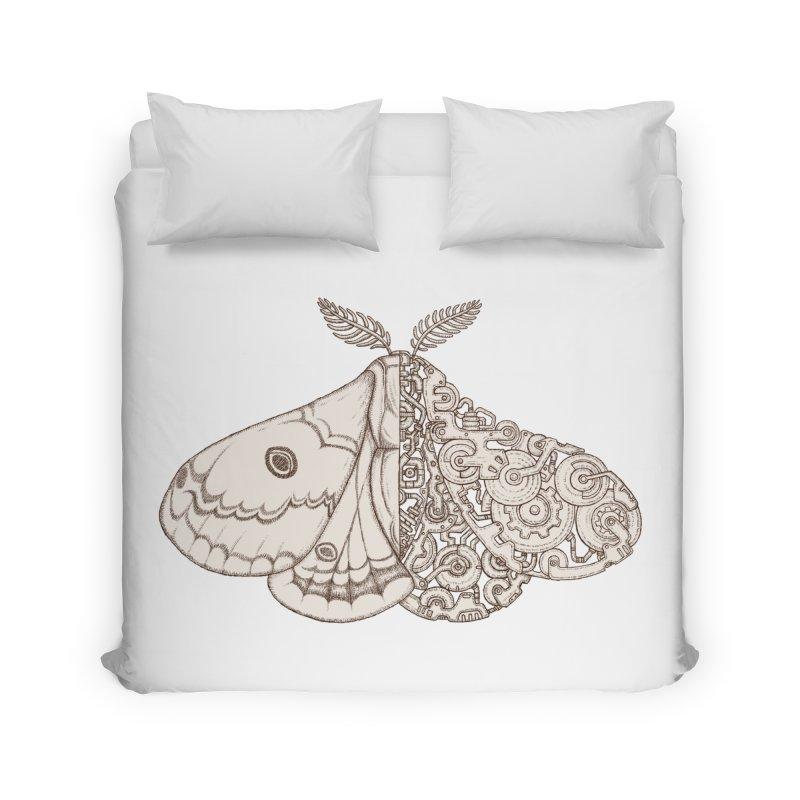 moth sci-fi Home Duvet by makapa's Artist Shop