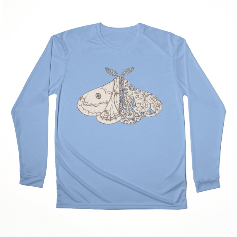 moth sci-fi Women's Longsleeve T-Shirt by makapa's Artist Shop