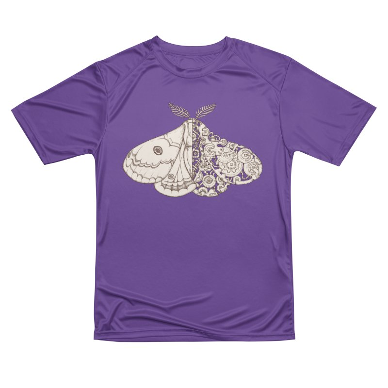 moth sci-fi Men's Performance T-Shirt by makapa's Artist Shop