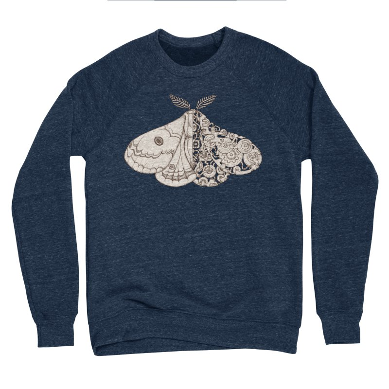 moth sci-fi Women's Sponge Fleece Sweatshirt by makapa's Artist Shop