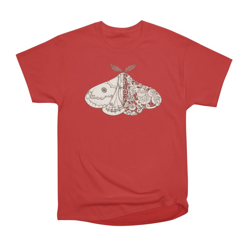 moth sci-fi Men's Heavyweight T-Shirt by makapa's Artist Shop