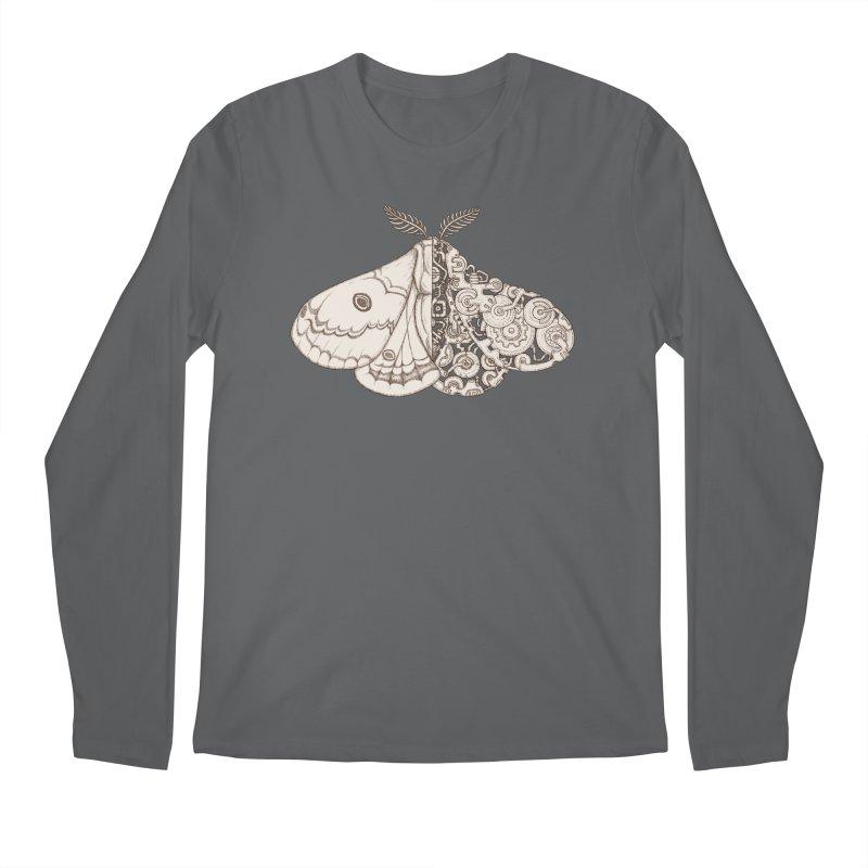 moth sci-fi Men's Longsleeve T-Shirt by makapa's Artist Shop