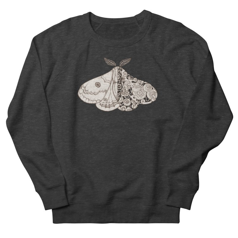 moth sci-fi Women's French Terry Sweatshirt by makapa's Artist Shop