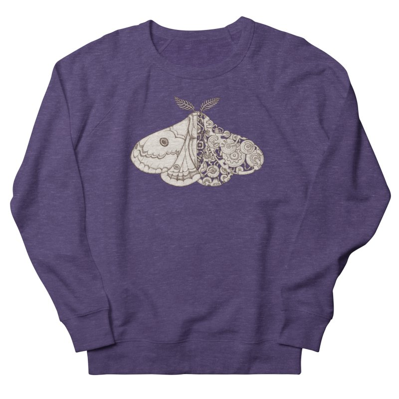 moth sci-fi Men's French Terry Sweatshirt by makapa's Artist Shop