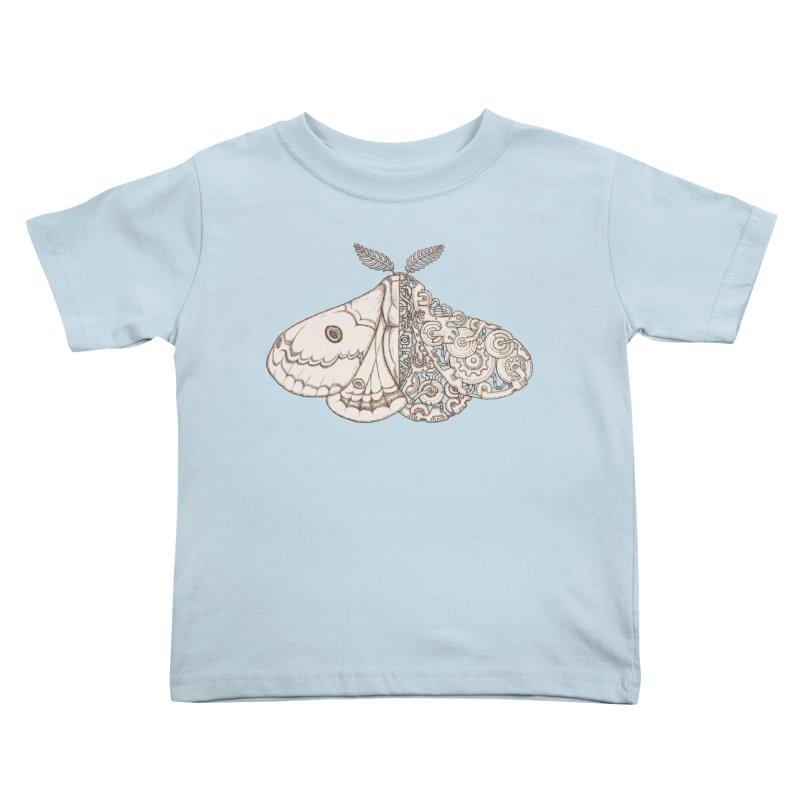 moth sci-fi Kids Toddler T-Shirt by makapa's Artist Shop