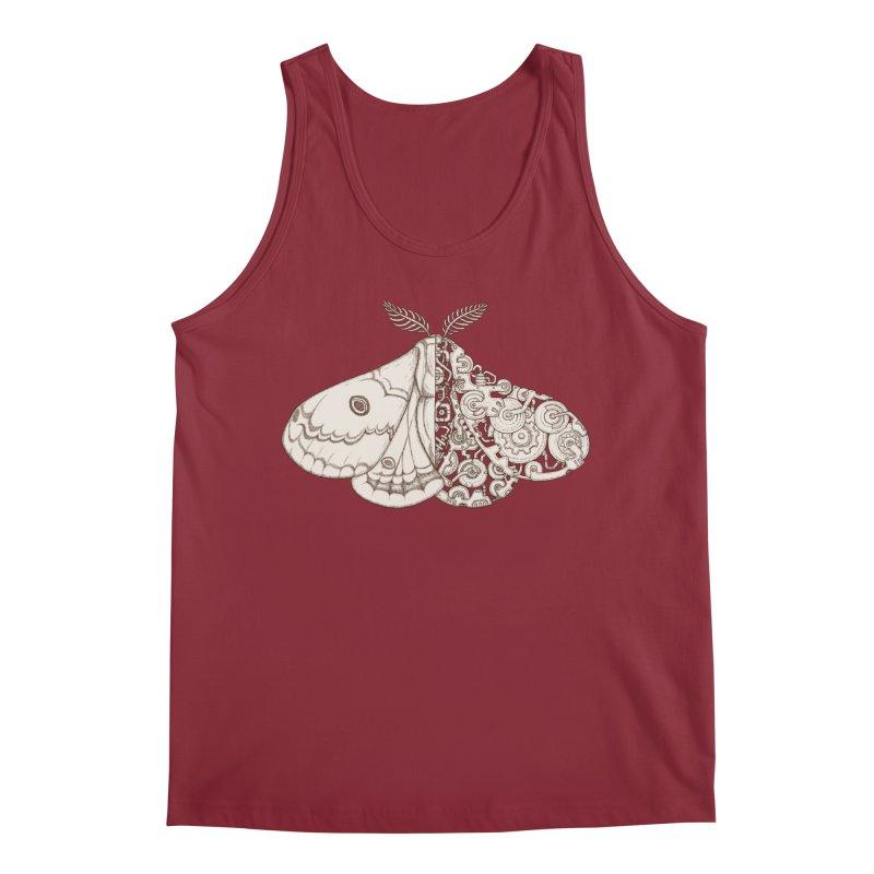 moth sci-fi Men's Tank by makapa's Artist Shop