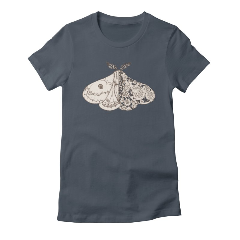 moth sci-fi Women's T-Shirt by makapa's Artist Shop