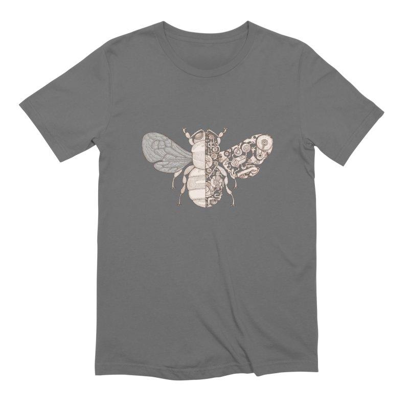 Bee sci-fi Men's Extra Soft T-Shirt by makapa's Artist Shop