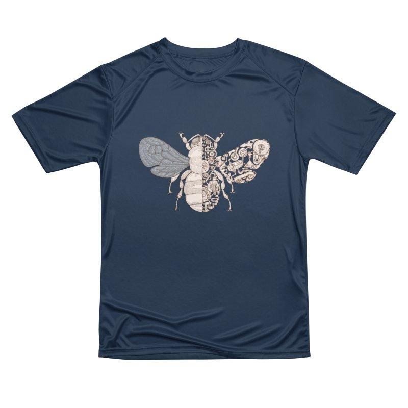 Bee sci-fi Women's Performance Unisex T-Shirt by makapa's Artist Shop