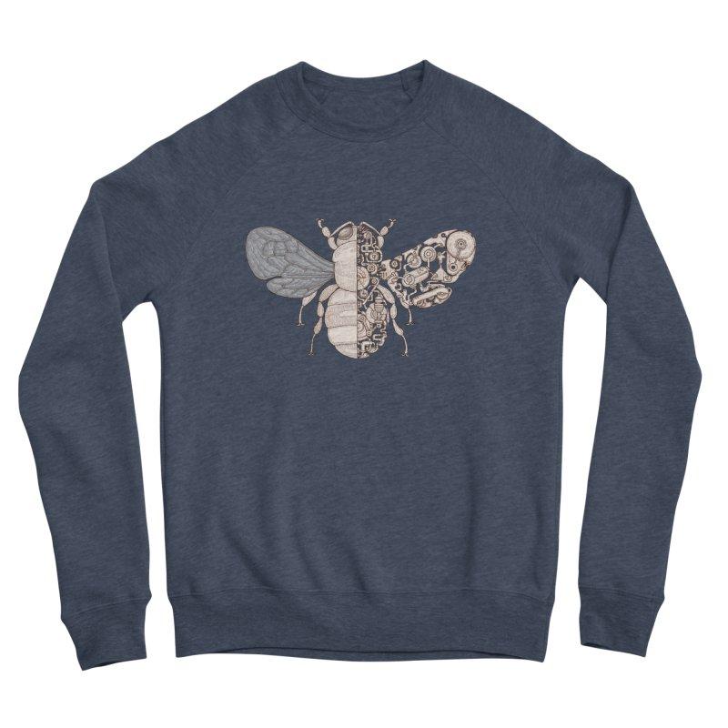 Bee sci-fi Women's Sponge Fleece Sweatshirt by makapa's Artist Shop