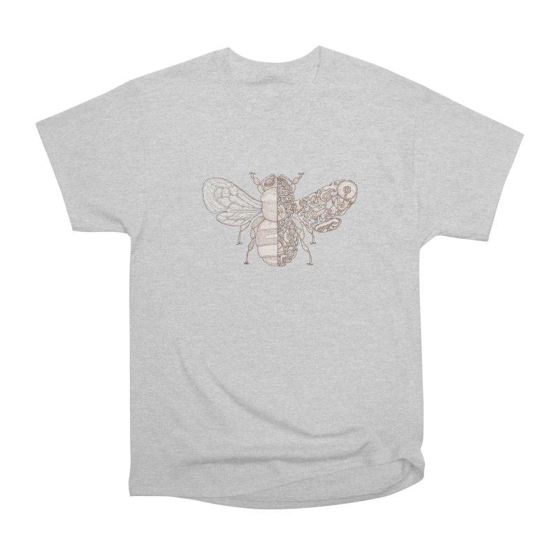 Bee sci-fi Men's Heavyweight T-Shirt by makapa's Artist Shop
