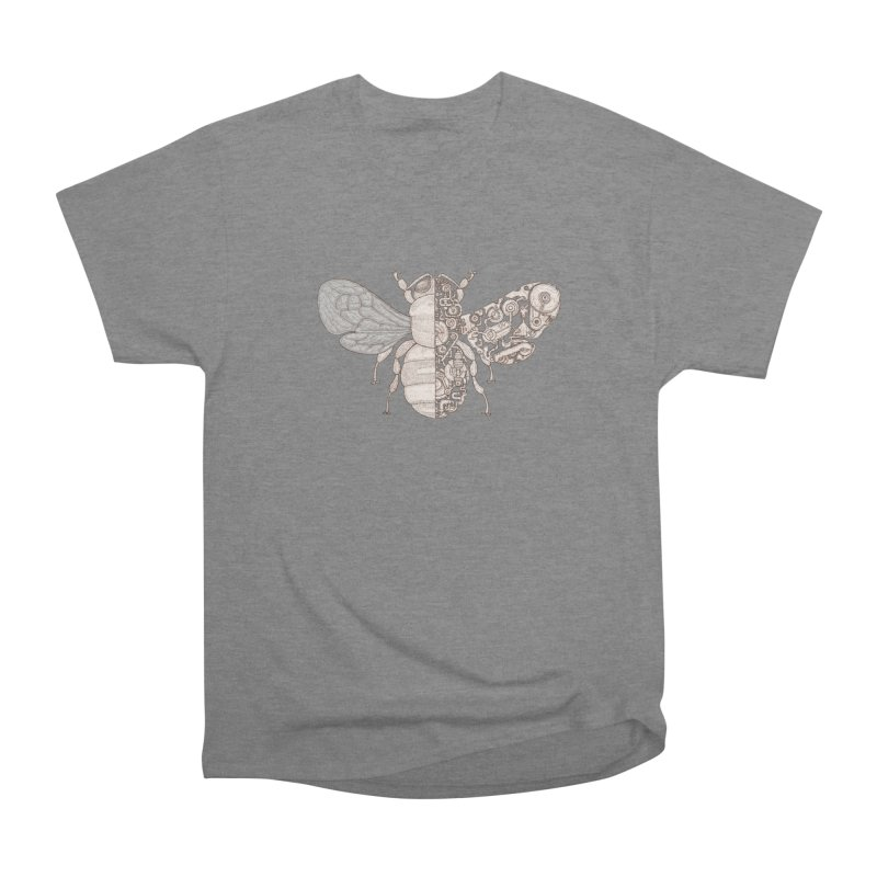 Bee sci-fi Men's Heavyweight T-Shirt by makapa's Artist Shop