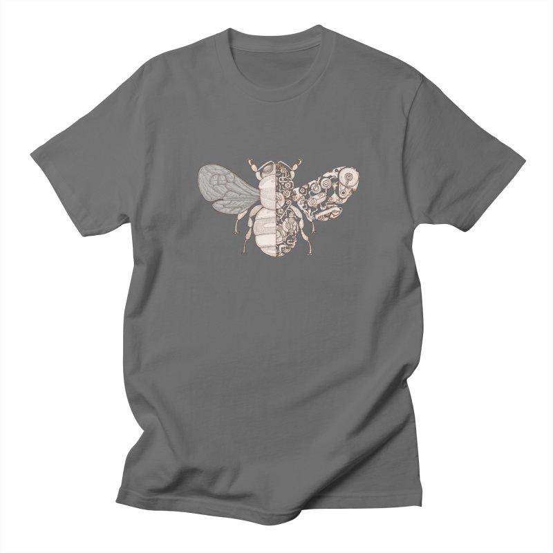 Bee sci-fi Men's T-Shirt by makapa's Artist Shop
