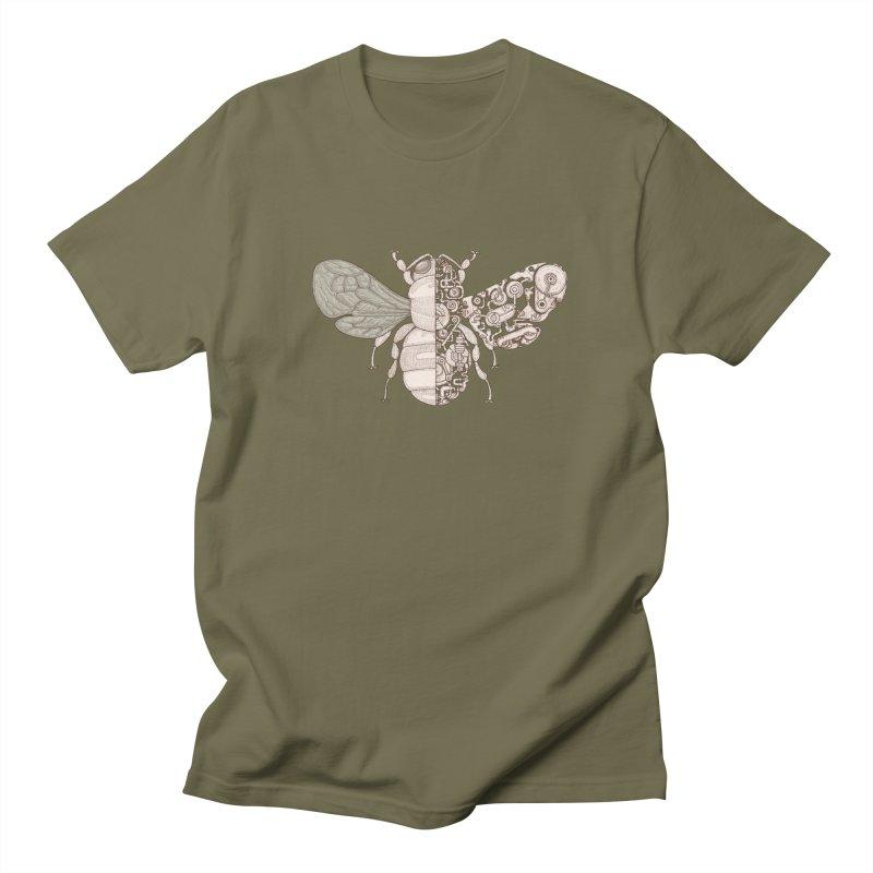 Bee sci-fi Men's Regular T-Shirt by makapa's Artist Shop