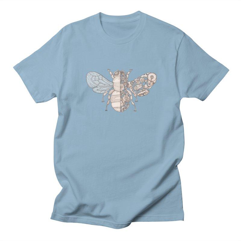 Bee sci-fi Women's Regular Unisex T-Shirt by makapa's Artist Shop