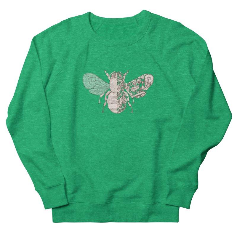 Bee sci-fi Women's French Terry Sweatshirt by makapa's Artist Shop