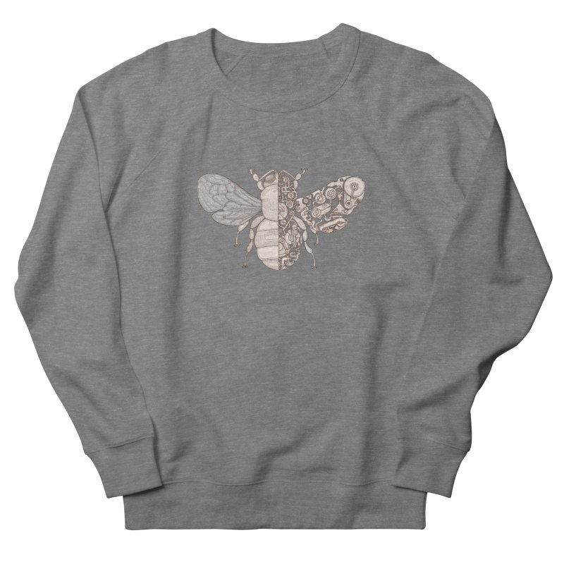 Bee sci-fi Women's French Terry Sweatshirt by makapa's Artist Shop