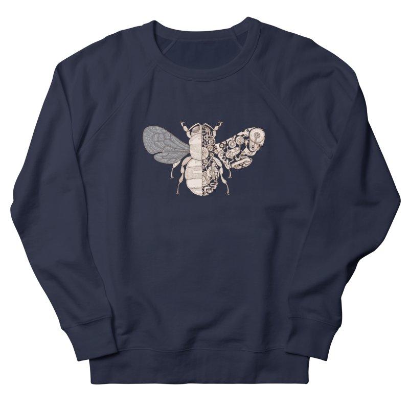 Bee sci-fi Men's French Terry Sweatshirt by makapa's Artist Shop