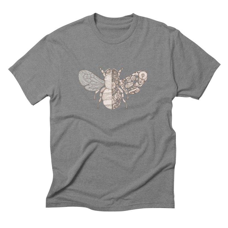 Bee sci-fi Men's Triblend T-Shirt by makapa's Artist Shop