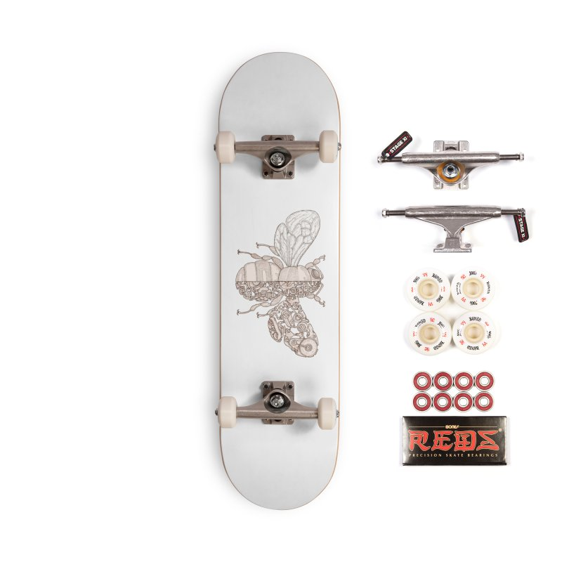 Bee sci-fi Accessories Complete - Pro Skateboard by makapa's Artist Shop
