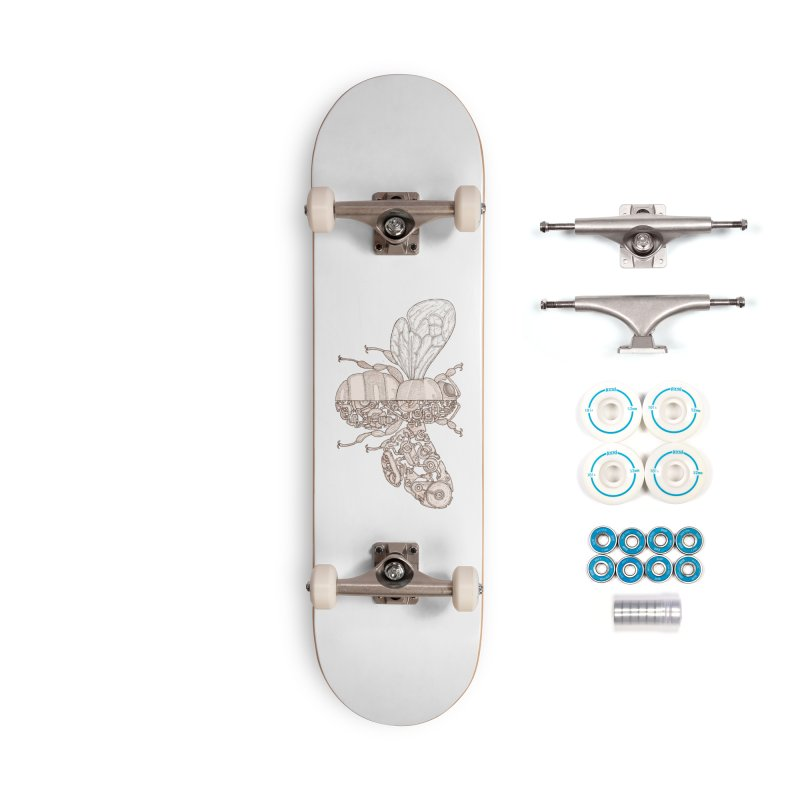 Bee sci-fi Accessories Complete - Basic Skateboard by makapa's Artist Shop